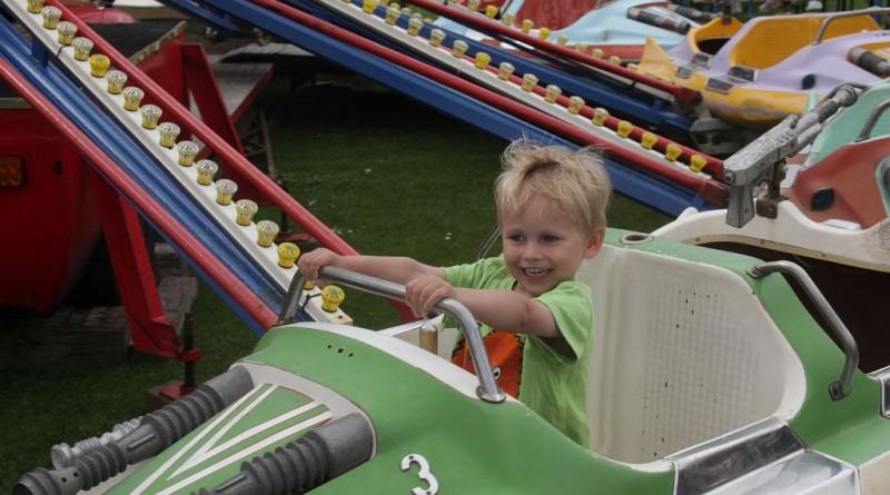 Tivoliet var et hit blandt børnene ved byfesten i Skibby. Foto: Freelancefotografen.dk