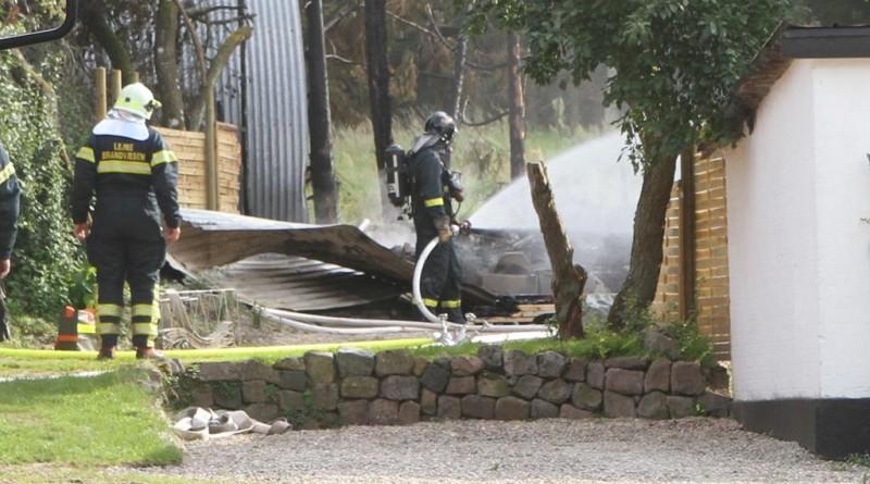 Brand på gård var måske påsat