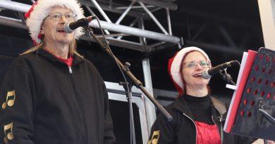 Sussi og Leo spillede julen ind  i Skibby